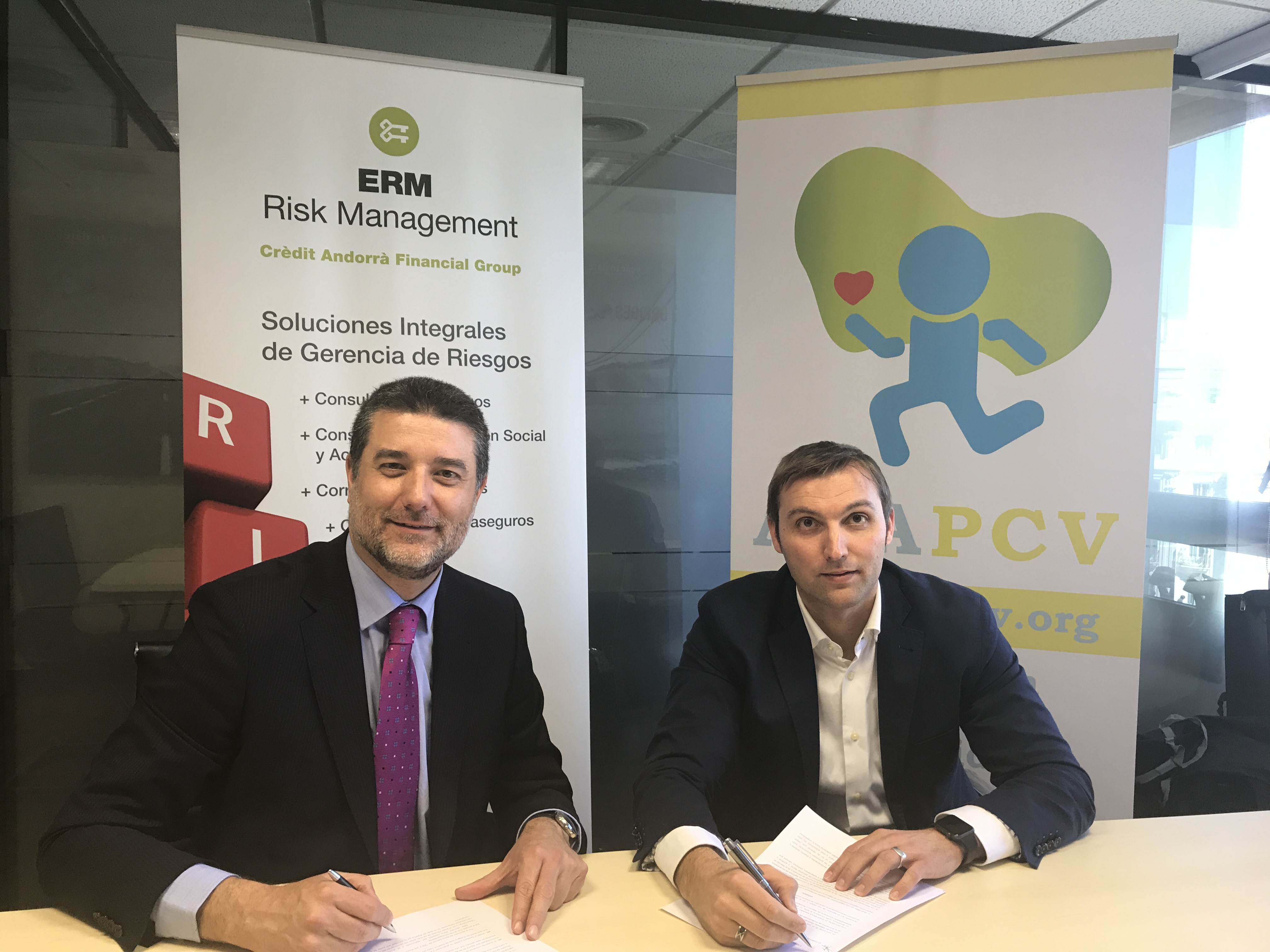 ASAPCV colabora con ERM Risk