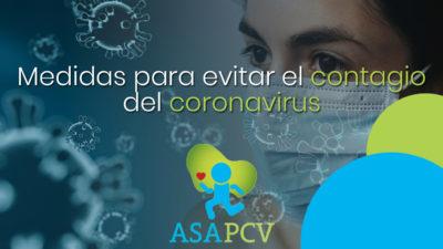 Cómo evitar el contagio por coronavirus