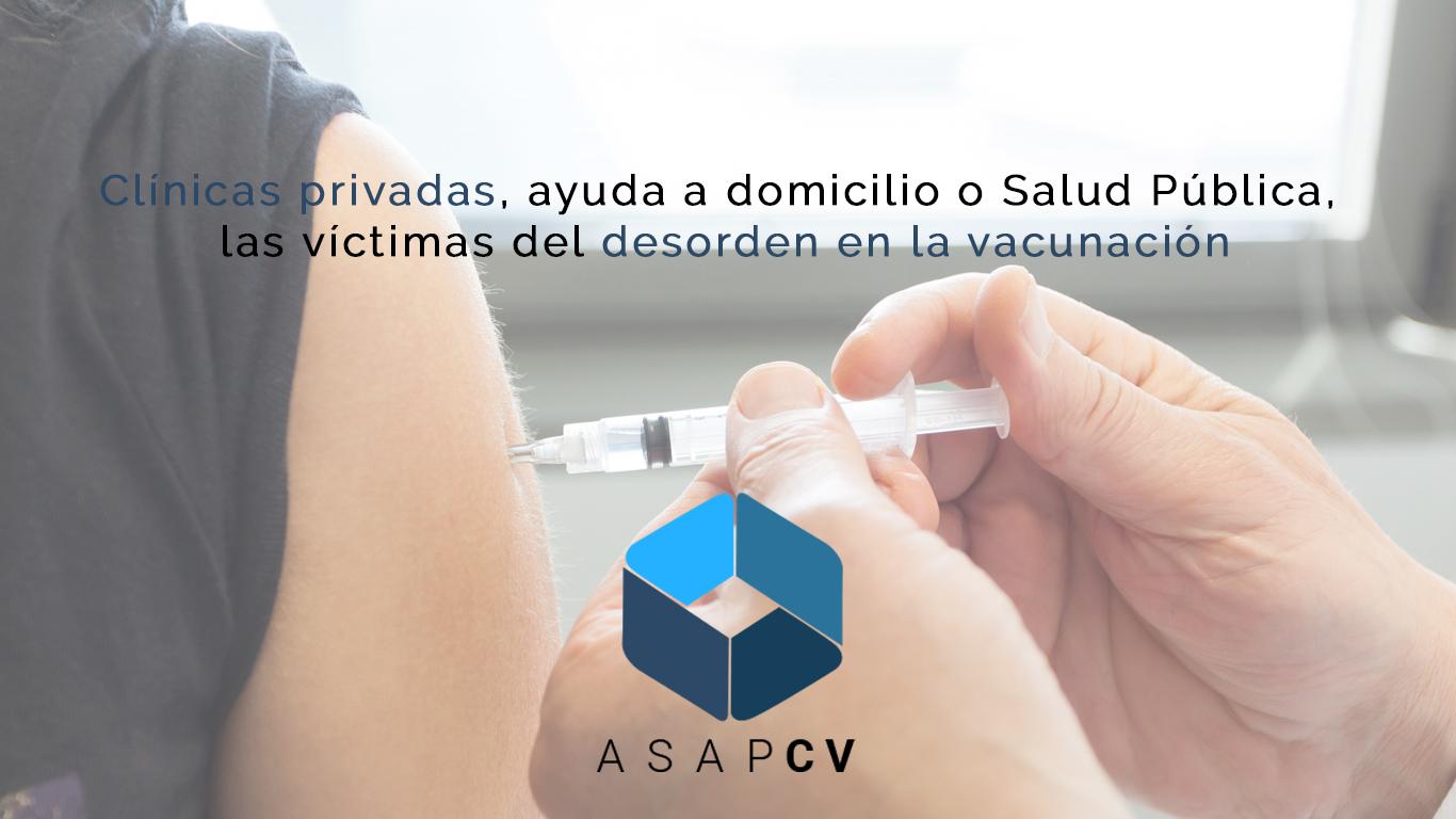 Clínicas privadas vacunación