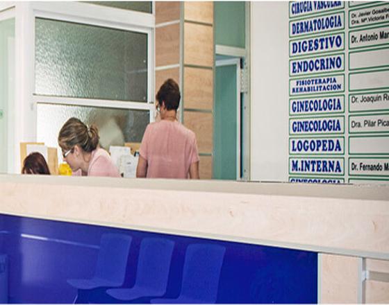 ASAPCV-Clínicas-Alicante Clínica la Creueta recepción