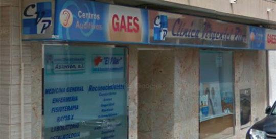 ASAPCV-Clínicas-Alicante Clínica VIrgen del Pilar entrada-puerta