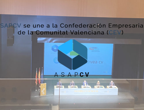 ASAPCV se une a la Confederación Empresarial de la Comunitat Valenciana (CEV)