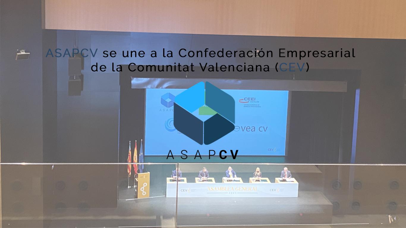 Asamblea CEV con ASAPCV
