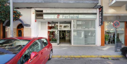 ASAPCV-Clínicas-Comunidad-Valenciana Clínica Fersalud entrada-puerta 2